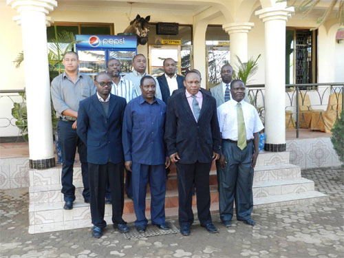Participants at the 1st Bilateral Wildlife Law Enforcement Meeting between Tanzania and Zambia National Bureaus